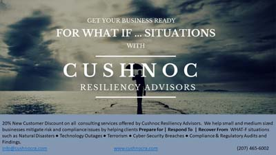 Cushnoc Resiliency Advisors Chamber of Commerce Member to Member