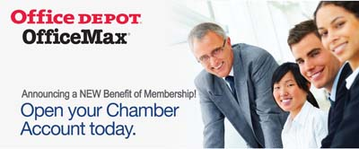 office depot national chamber program